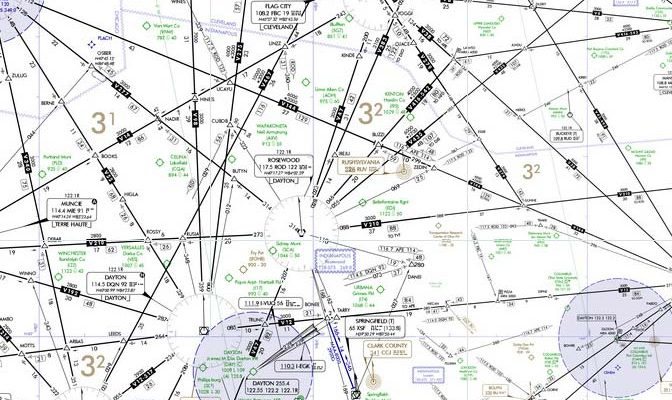 how to get instrument rating - this is an instrument low altitude chart
