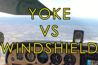 yoke mount versus windshied mount for the ipad in the cockpit